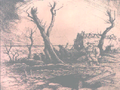 Soldiers on a Hill With Damaged Building in the Background.png