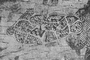 Sanjak of Segedin - Ottoman Sonbor (Sombor) - image from 1698