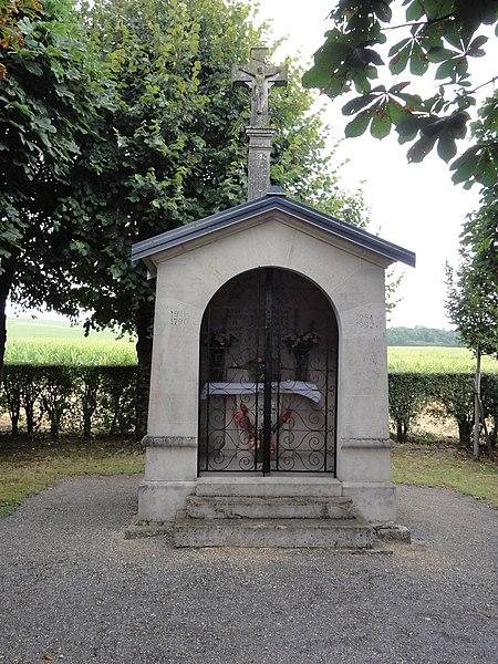 Sorcy-Saint-Martin (Meuse) chapelle du Chana, extérieur