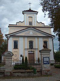 Sosnowica - kościół Świętej Trójcy (02).jpg