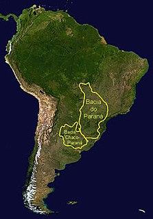 Mangrullo Formation formation in Uruguay