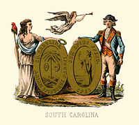 South Carolina state coat of arms