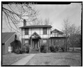South front of main house - Frank L. Fox House, 127 Second Avenue, Hickory, Catawba County, NC HABS NC,18-HICK,2-1.tif