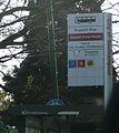 Southampton Bassett Cross Roads bus stop.JPG