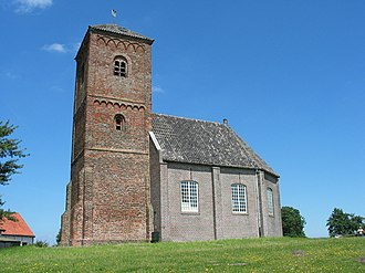 Spaarnwoude - The church of Spaarnwoude