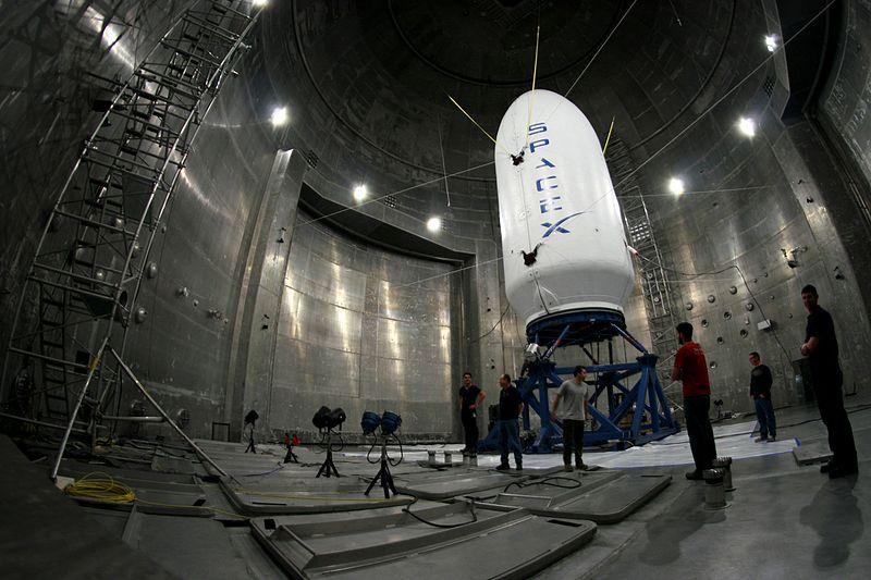 File:SpaceX Fairing test.jpg