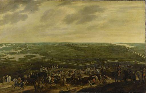 Spanish troops retreat after the siege of Den Bosch in 1629 - De aftocht van het Spaanse garnizoen na de overgave van 's-Hertogenbosch, 17 september 1629 (Pauwels van Hillegaert, 1635)