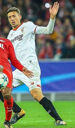 Clément Lenglet - Lenglet with Sevilla in 2017
