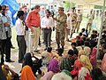 Special Representative Holbrooke With Pakistani Brigadier Mehmood and Thatta DCO Manzoor Ali Shaikh Visits the Makli Cricket Stadium Army IDP Camp (4998022803).jpg