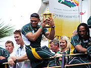 Springbok parade