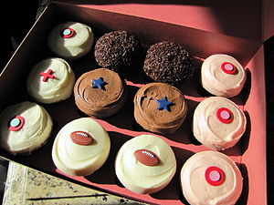 Box of Sprinkles Cupcakes in Dallas, Texas, in...