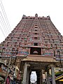 Srirangam temple tower.jpg