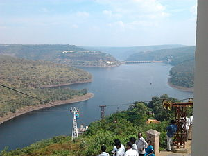 Srisailam Dam and River Krishna.jpg
