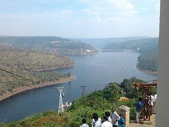 Andhra Pradesh - Krishna River at Srisailam