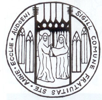 St. Audoen's Church, Dublin (Church of Ireland) - Seal of St. Anne's Guild, 1599