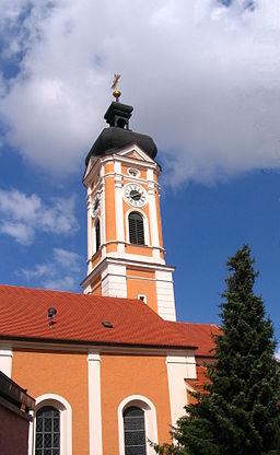 Kath Pfarrkirche St. Georg in Painten, Landkreis Kelheim, Niederbayern