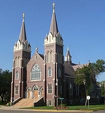 St. James Basilica (Jamestown, ND) from NE 1.jpg