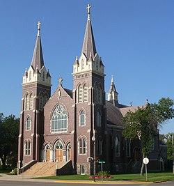 St. James Basilica (Jamestown, ND) from NE 1.jpg