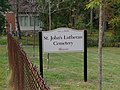 St. John's Lutheran Cemetery new sign.jpg