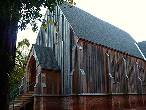 National Register of Historic Places listings in Dallas County, Alabama - Image: St. Luke's Church at Cahaba 03