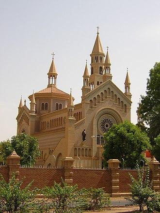Religion in Sudan - St. Matthew's Catholic Cathedral, Khartoum