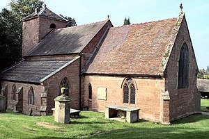 Mildburh - St. Milburga's Church, Beckbury