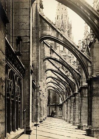 Church of St. Ouen, Rouen - Image: St. Ouen, Rouen, France, 1910. (2787320269)