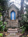 St. Thomas the Apostle, Columbus, Ohio - outdoor shrine to the Blessed Virgin Mary.jpg