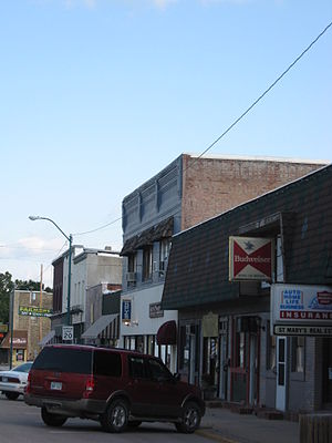 St. Marys, Kansas - Downtown St. Marys (2009)