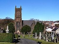 St David's Cemetery and Church - geograph.org.uk - 1717450.jpg
