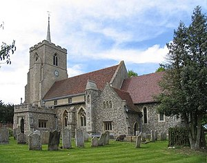 Grade II* listed buildings in East Hertfordshire - Image: St Mary the Virgin, Albury, Herts geograph.org.uk 362572