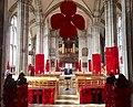 St Marys Church, Warwick, poppy display (geograph 5973871).jpg
