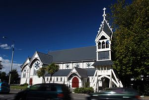 Church of St Michael and All Angels, Christchurch - Image: St Michaels Church, Christchurch