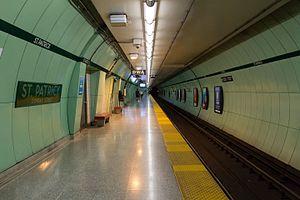 St. Patrick station - Image: St Patrick Platform 01