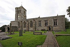 St Peter's Church, Heversham, Cumbria - geograph.org.uk - 937627.jpg