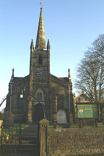 St Peters Church, Mawdesley Church in Lancashire, England