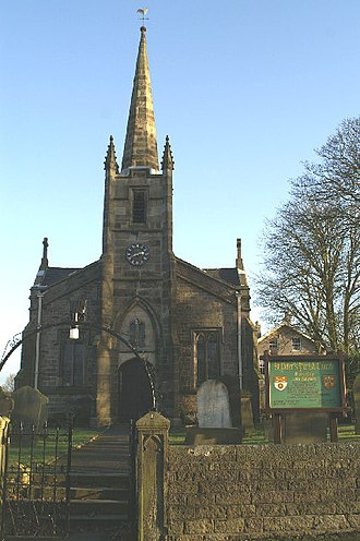 St Peter's Church, Mawdesley - St Peter's Church, Mawdesley, from the west