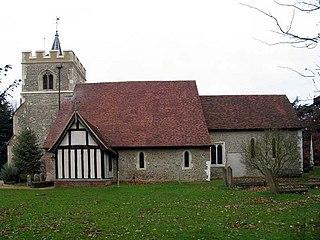 Tewin Village in Hertfordshire, England