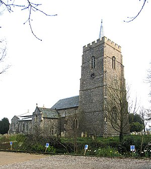 Hethersett - Image: St Remigius, Hethersett, Norfolk geograph.org.uk 315351