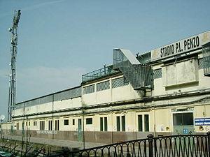 Stadio Pierluigi Penzo - Image: Stadio Pierluigi Penzo Venezia outside 1