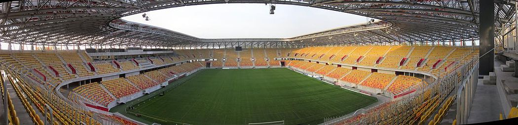 A Panorama view of the stadium interior Stadion Miejski - Bialystok1.jpg