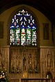 Stained glass window, St Peter's Church, Winchester 1.jpg