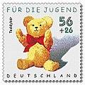 Stamp Germany 2002 MiNr2263 Teddybär.jpg