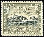 Stamp of the Principality of Trinidad 1893 5f.jpg