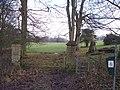 Start of footpath - geograph.org.uk - 1691232.jpg