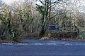 Start of lane to Hen-hafod farm - geograph.org.uk - 1717500.jpg