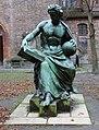 Statue Propststr (Mitte) Die Allegorie der Wissenschaft&Albert Wolff&1871.jpg