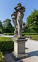 Statue by Venetian fountain, Lednice, Czech Republic 12.jpg