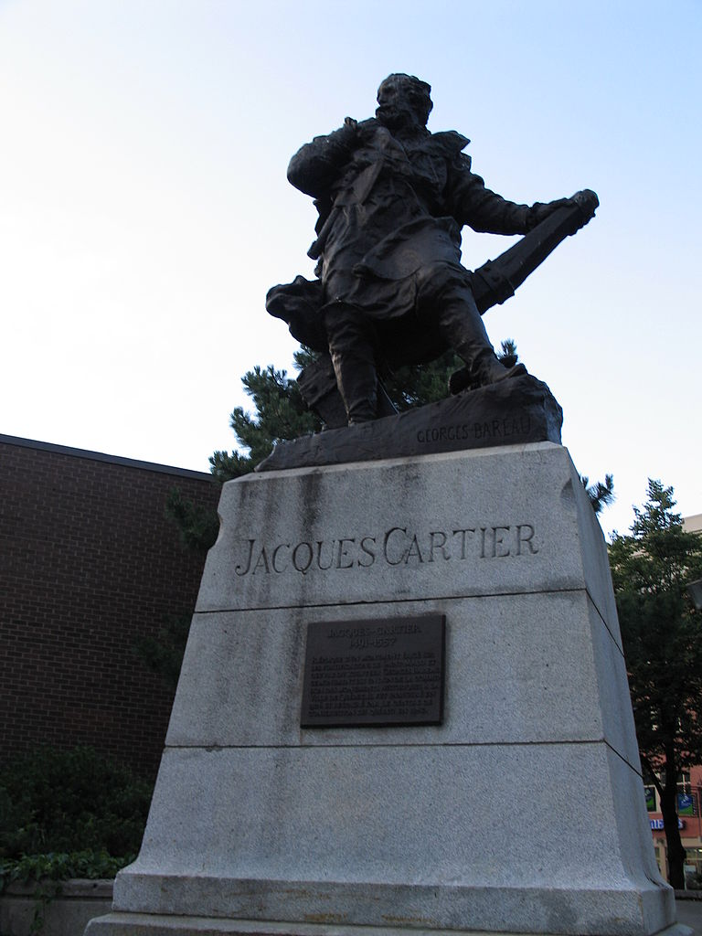 File Statue Of Jacques Cartier Quebec City 00006 Jpg