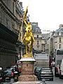 Statue of Jeanne d'Arc in Paris, Place des Pyramides Pcs34560.jpg